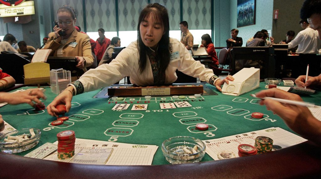 Do you want to learn playing baccarat?